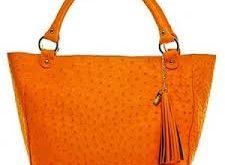 کیف چرم شترمرغ